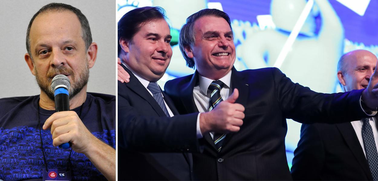 Breno Altman, Rodrigo Maia e Jair Bolsonaro