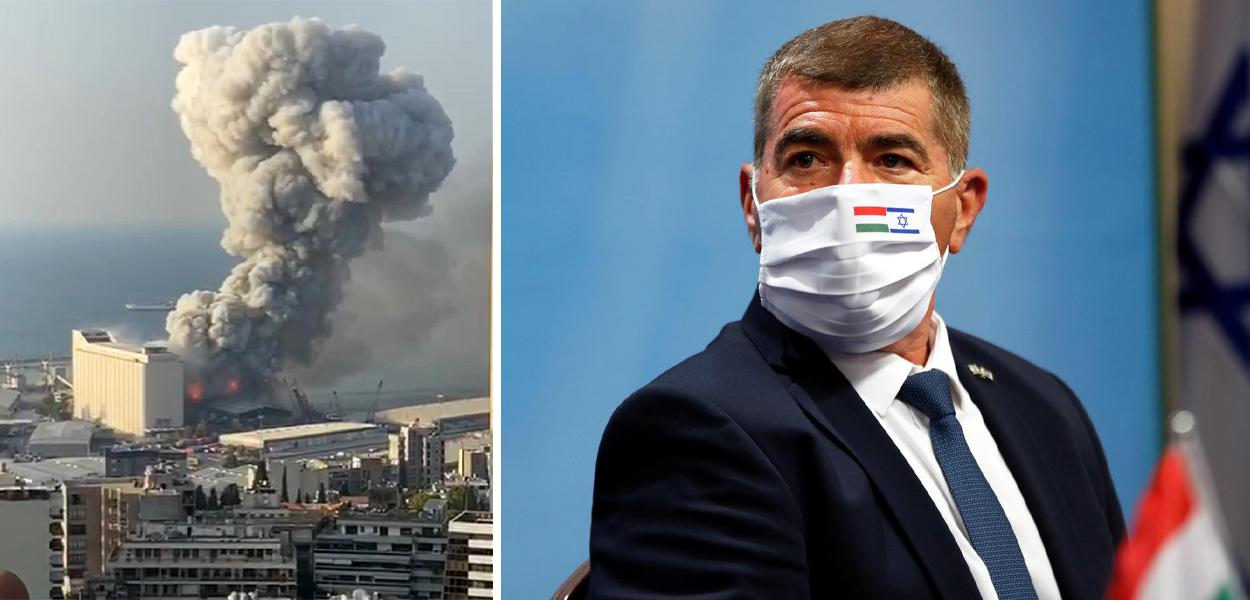 Explosão no Líbano /  Gabi Ashkenadzi