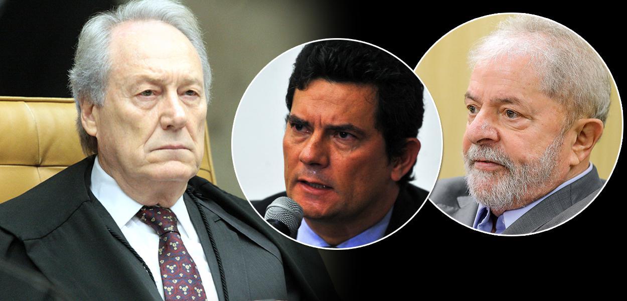 Ricardo Lewandowski, Sergio Moro e Lula