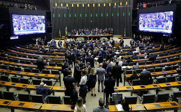 Plenário da Câmara dos Deputados. 03/02/2020