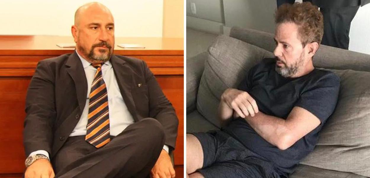 Januário Paludo e Dario Messer