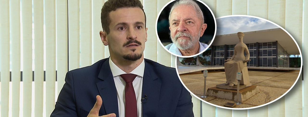 Henrique Pozzobon, Lula e fachada do STF