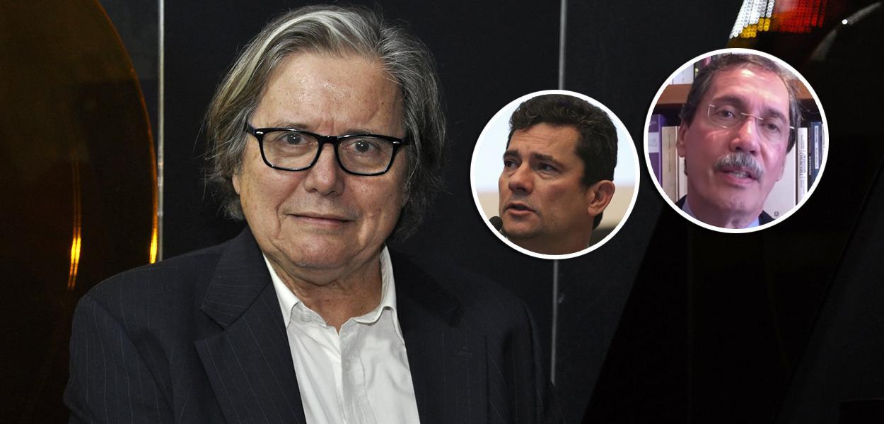 Paulo Moreira Leite, Sérgio Moro e Merval Pereira
