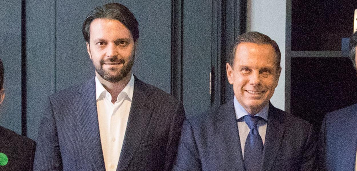 Alexandre Baldy e João Doria