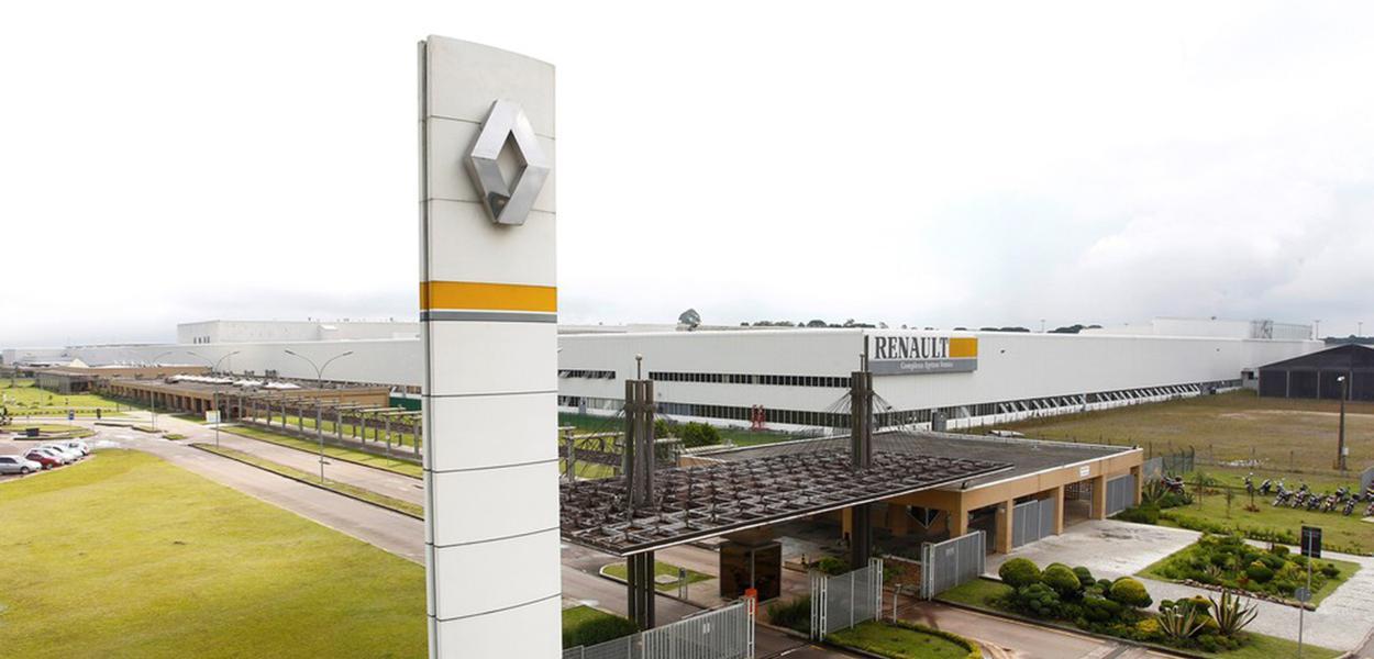 Fábrica da Renaut em São José dos Pinhais (PR)