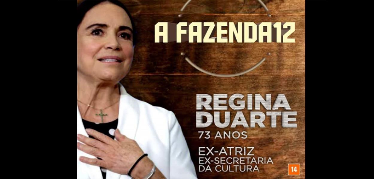 Após revelação de sonho de voltar para a Globo, internautas sugerem que Regina Duarte participe da Fazenda, na Record