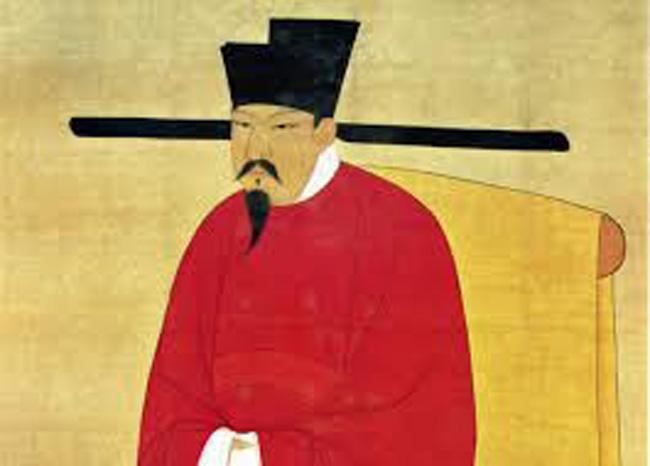 Chapéu de mandarim, na China medieval