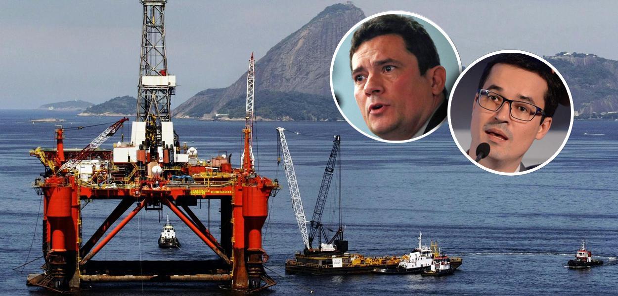 Plataforma de petróleo, Sérgio Moro e Deltan Dallagnol