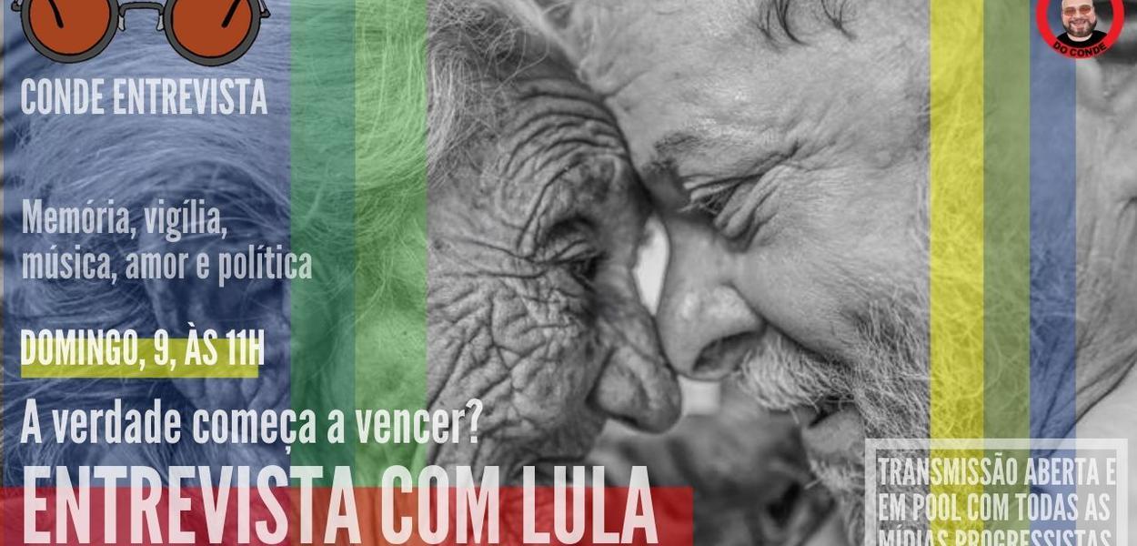Conde entrevista Lula