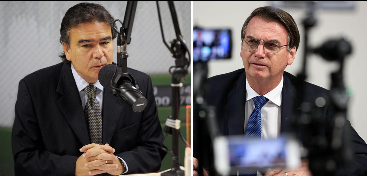 José Gomes Temporão e Jair Bolsonaro