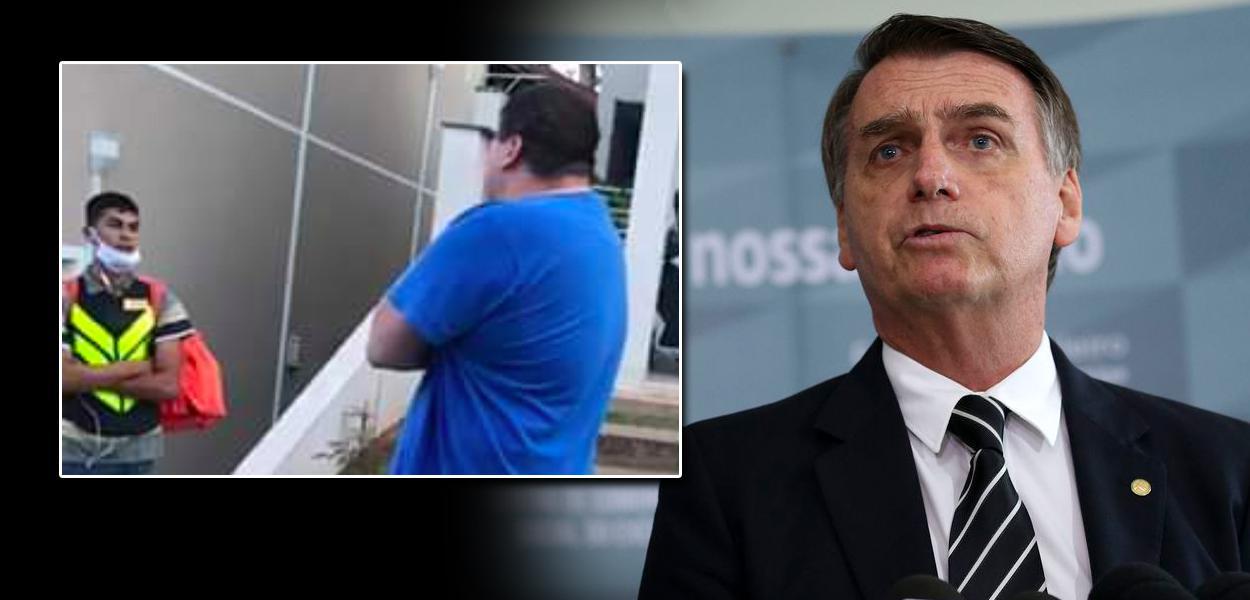 Entregador alvo de racismo e Jair Bolsonaro