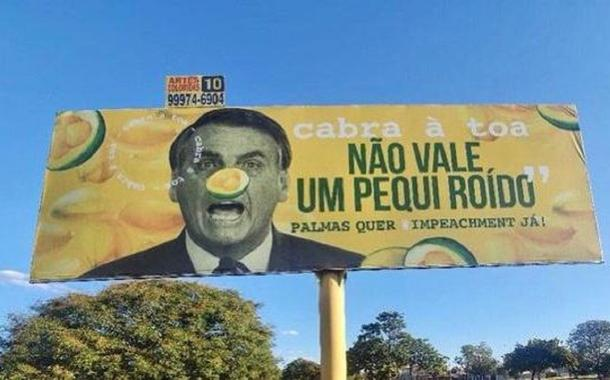 Outdoor com Bolsonaro