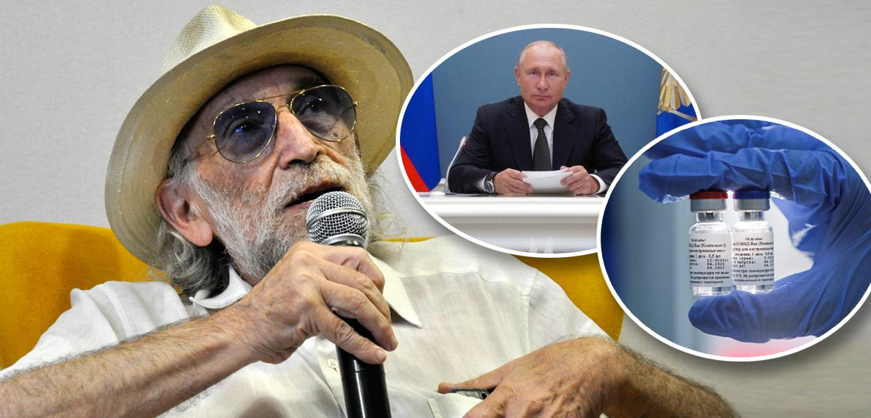 Alex Solnik, Putin e vacina russa