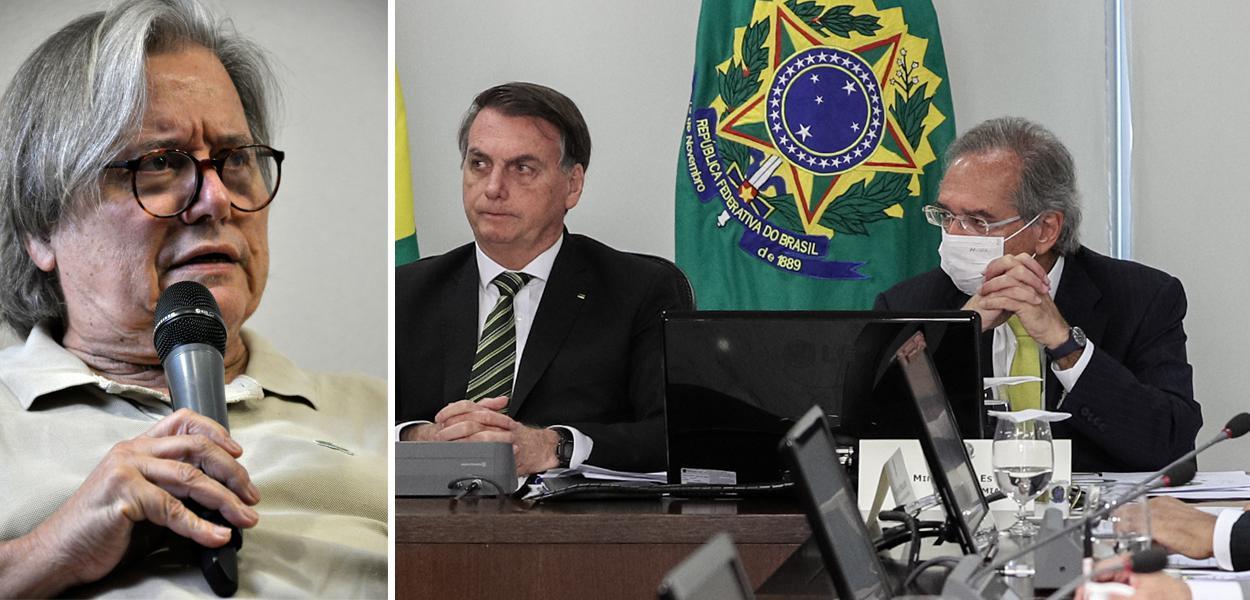 Paulo Moreira Leite, Jair Bolsonaro com Paulo Guedes