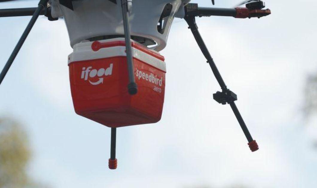 iFood faz entregas com drones