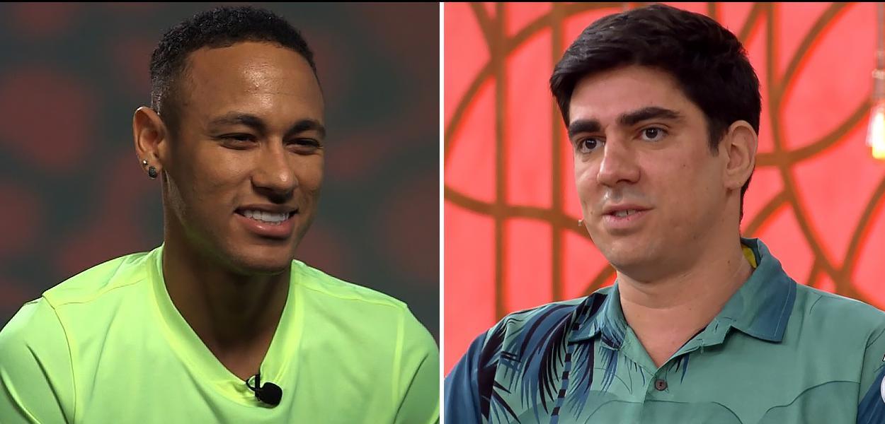 Neymar e Marcelo Adnet