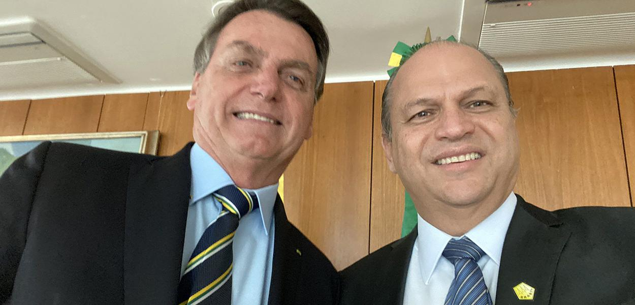 Ricardo Barros e Jair Bolsonaro
