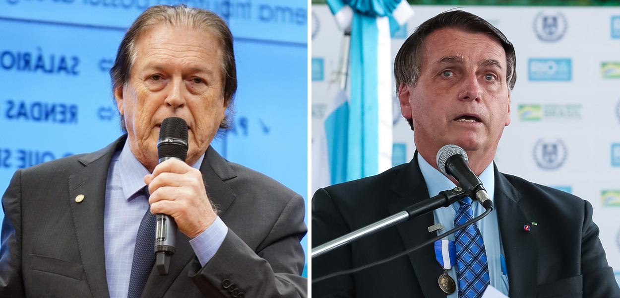 Luciano Bivar e Bolsonaro