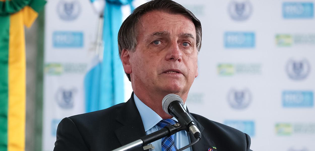 (Rio de Janeiro - RJ, 14/08/2020) Palavras do Presidente da República Jair Bolsonaro.
