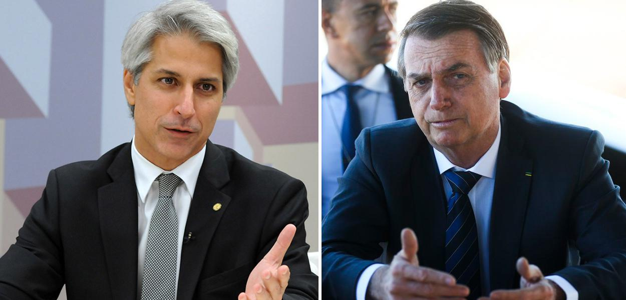 Alessandro Molon e Jair Bolsonaro