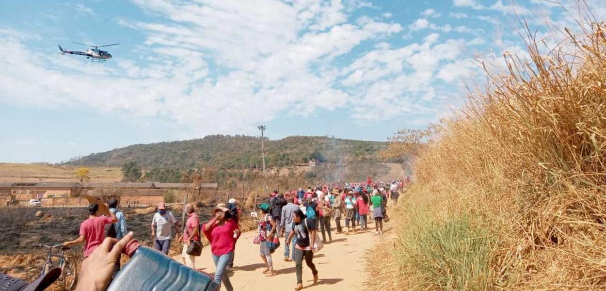 Ação de despejo de famílias do MST em plena pandemia é denunciada à ONU