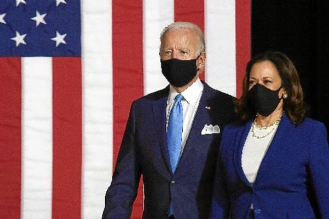 Joe Biden e sua vice Kamala Harris