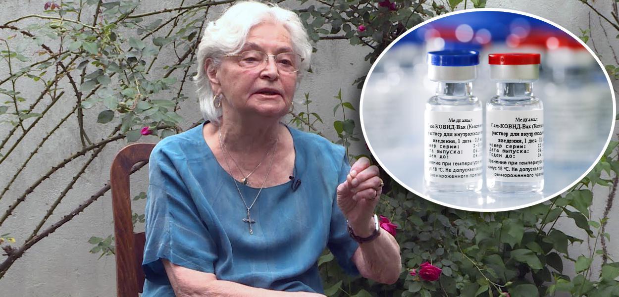 Ana Gligic e vacina russa
