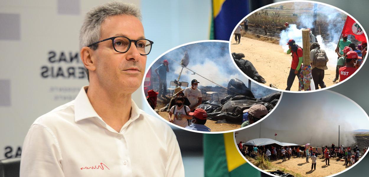 Romeu Zema e invasão no Quilombo Campo Grande