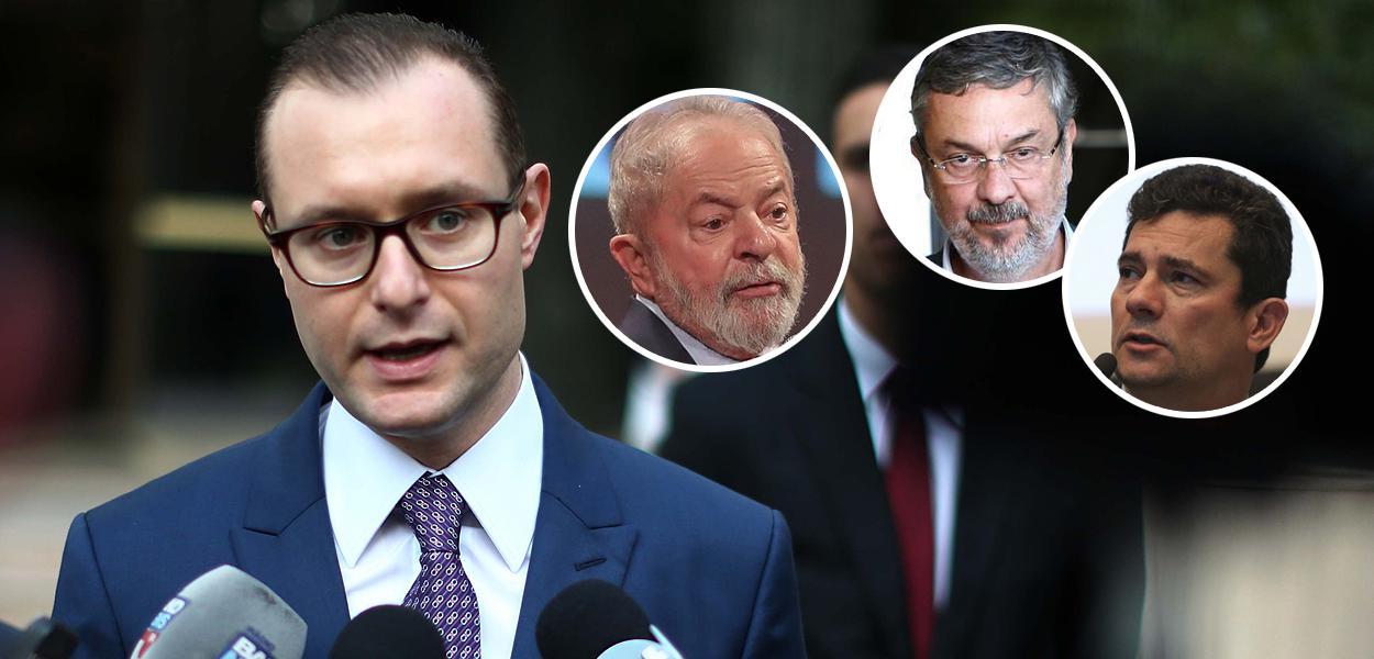 Cristiano Zanin Martins, Lula, Palocci e Sérgio Moro