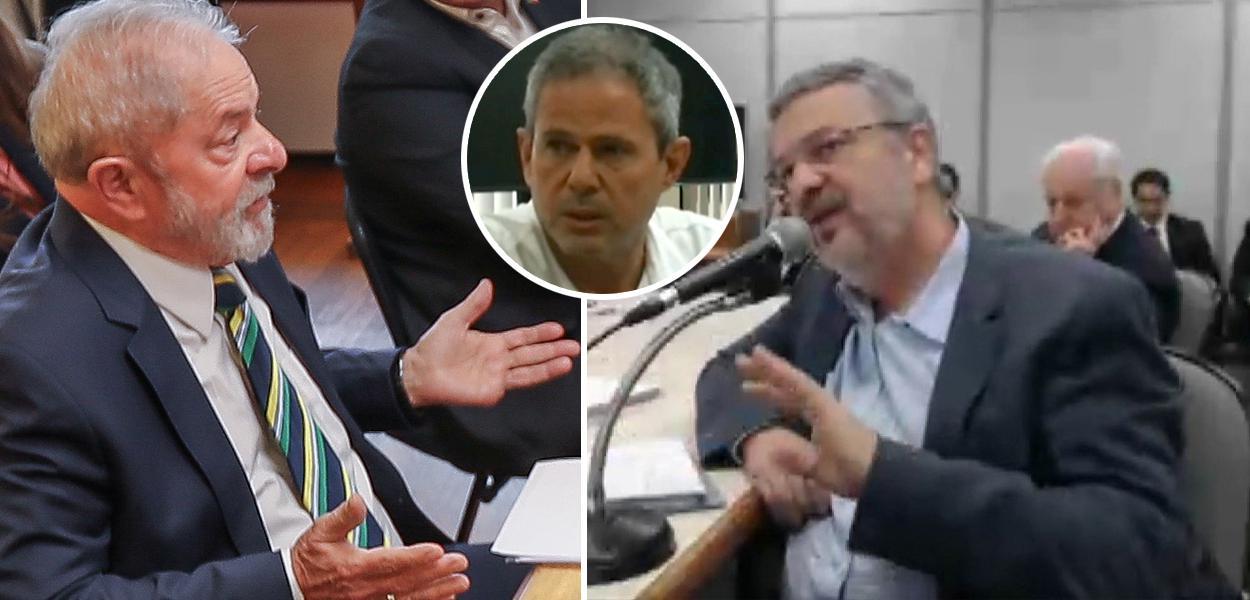 Lula, Dario Messer e Palocci