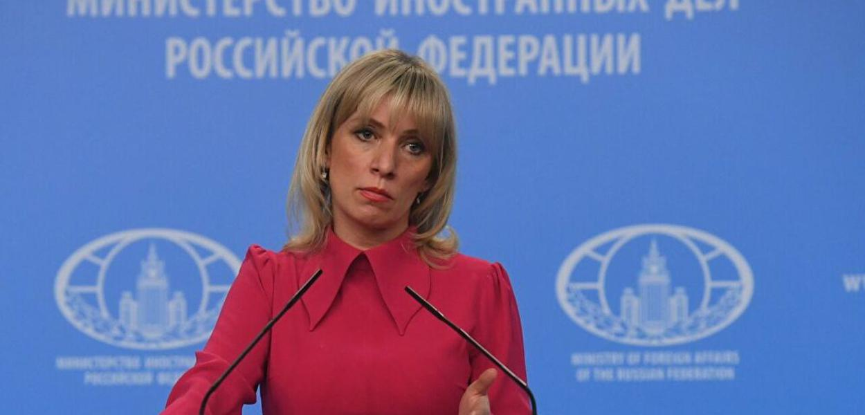 María Zaharova, porta-voz da chancelaria russa