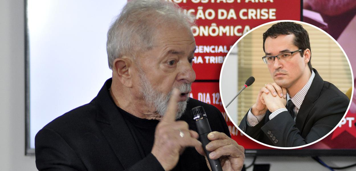 Lula e Deltan Dallagnol