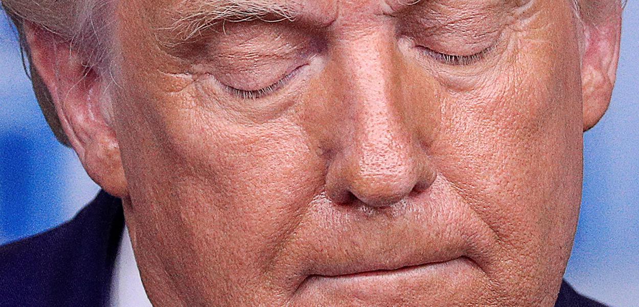 Presidente dos EUA, Donald Trump, na Casa Branca 19/08/2020