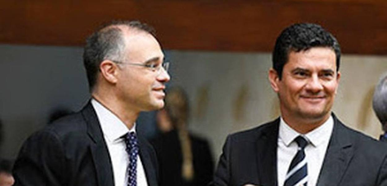 André Mendonça e Sérgio Moro