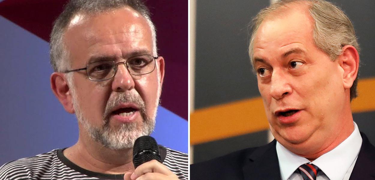 Kiko Nogueira e Ciro Gomes