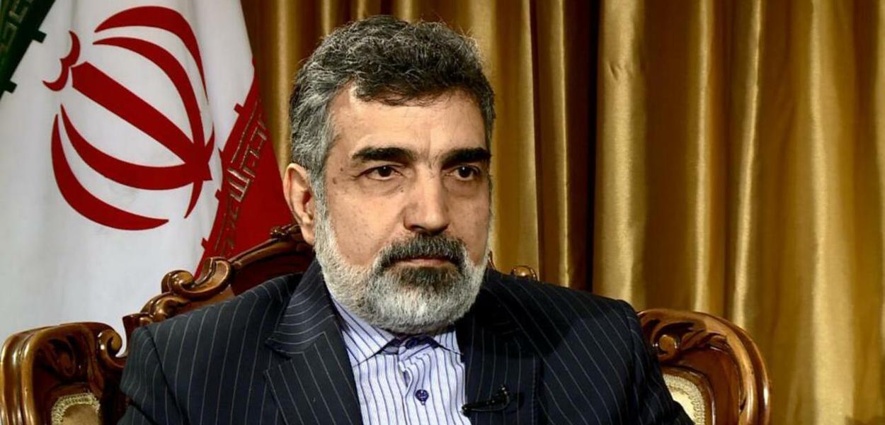 Kamalvandi, chefe da Agência Nuclear Iraniana