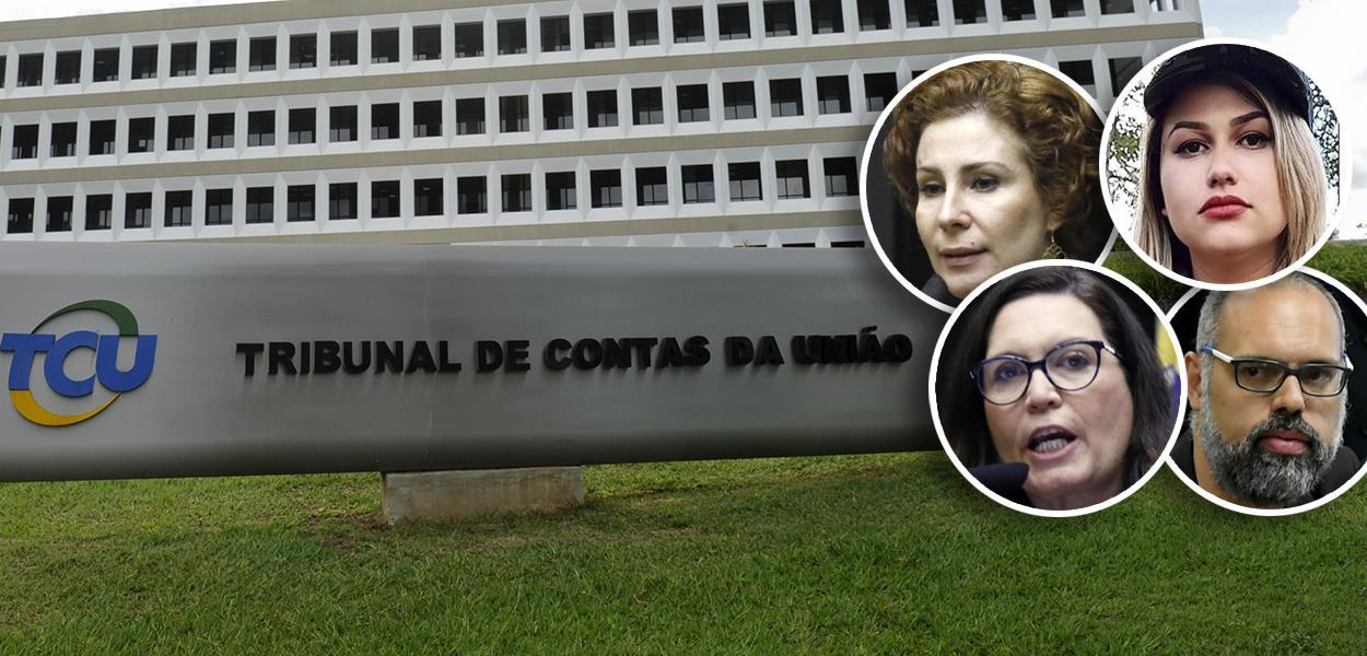 TCU, Carla Zambelli, Sara Winter, Bia Kicis e Allan dos Santos