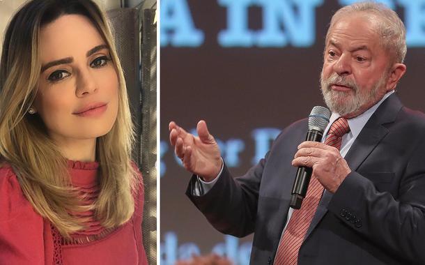 Rachel Sheherazade e Lula