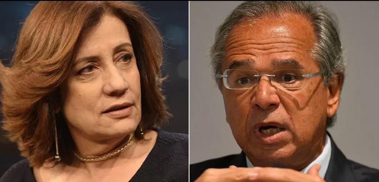Miriam Leitão detona comunicação de Paulo Guedes.