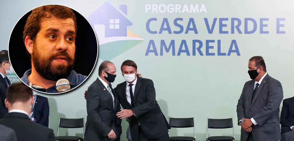 Boulos, do MTST, critica programa de habitação de Bolsonaro
