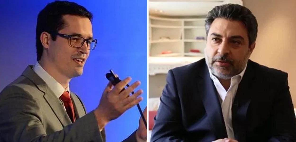 Rodrigo Tacla Duran e Deltan Dallagnol