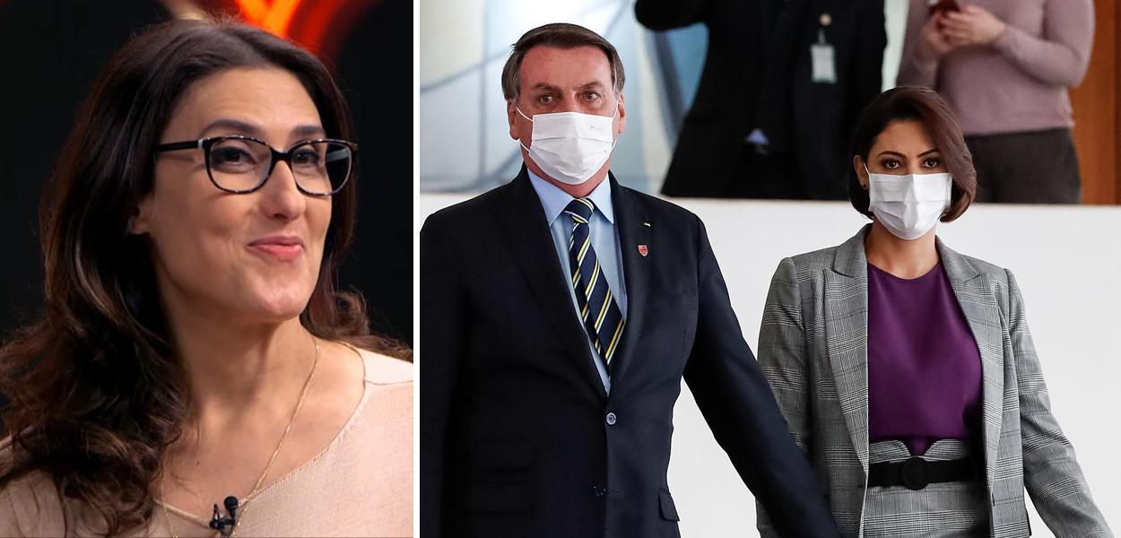 Paola Carosella, Jair e Michelle Bolsonaro