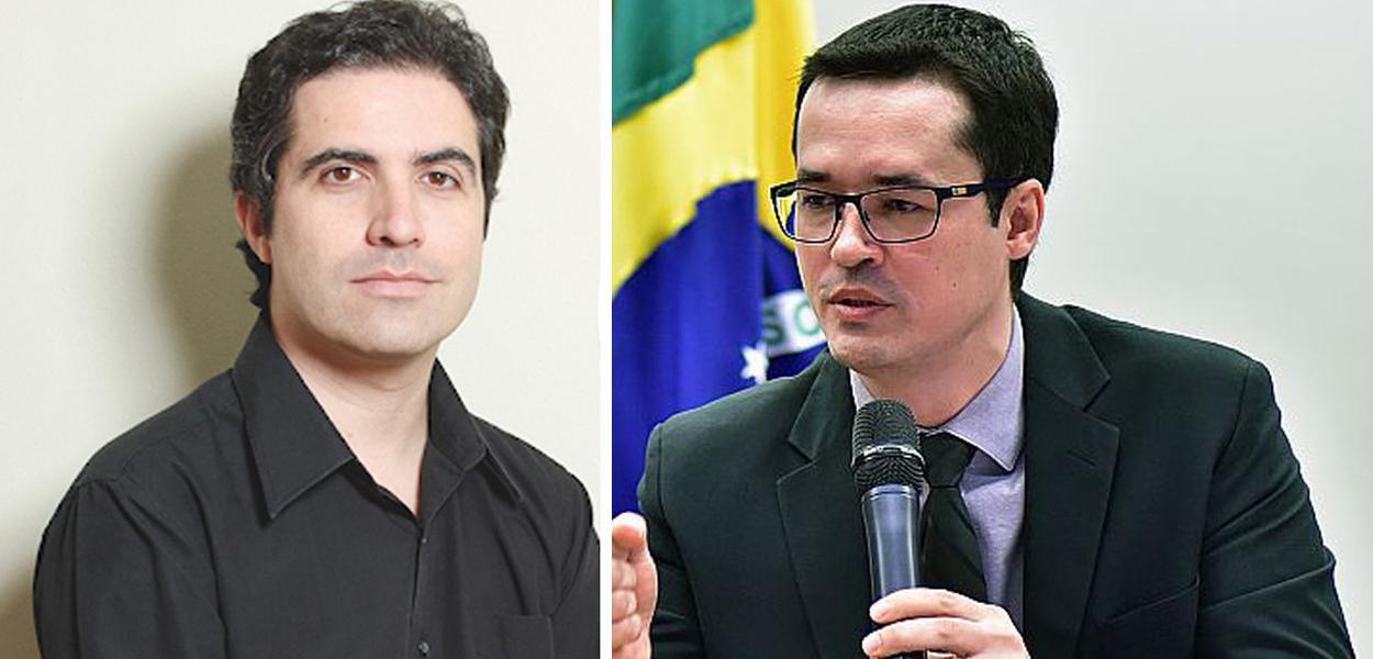 Bernardo Mello Franco e Deltan Dallagnol