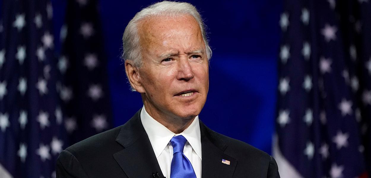 Candidato democrata à Presidência dos EUA, Joe Biden 20/08/2020