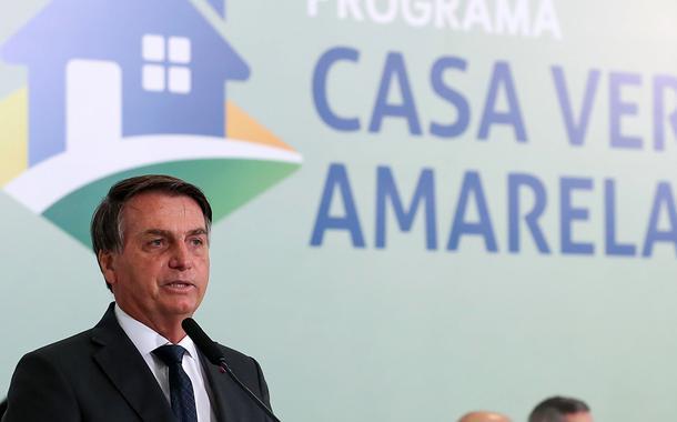 Cerimônia de lançamento do Programa Casa Verde e Amarela