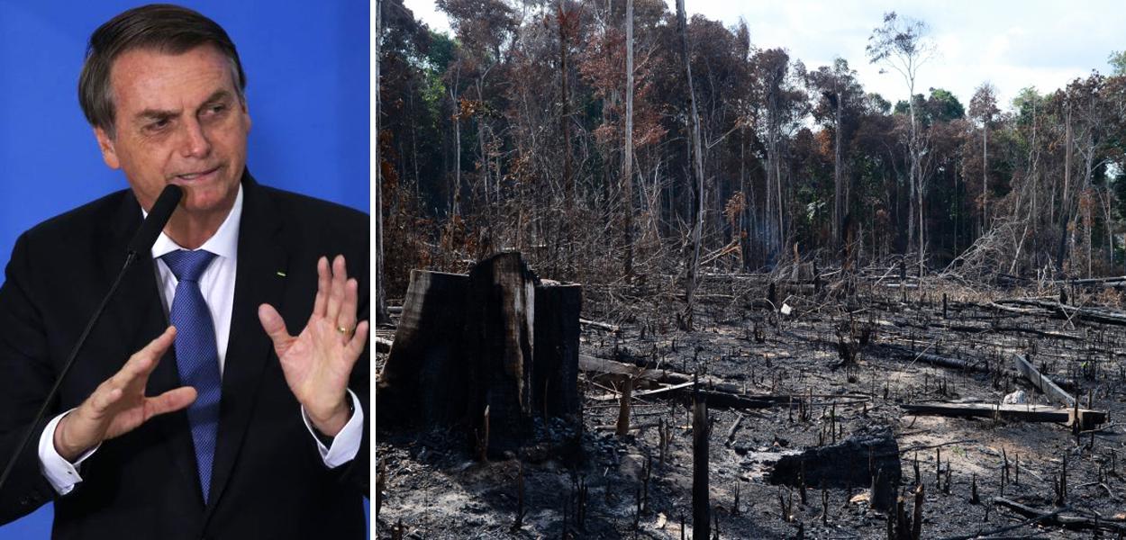 Jair Bolsonaro /  Amazônia em crise