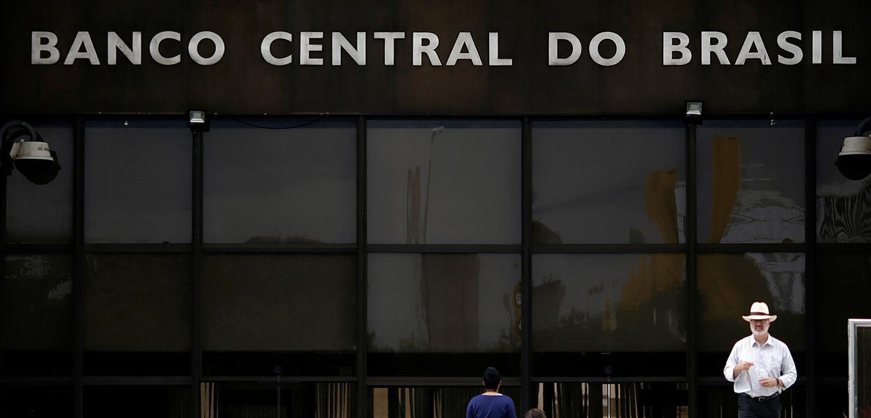 Fachada do Banco Central, em Brasília 16/05/2017
