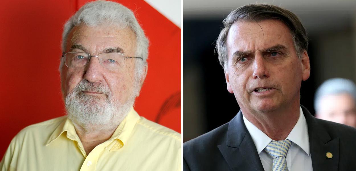Laurindo Lalo Leal e Jair Bolsonaro