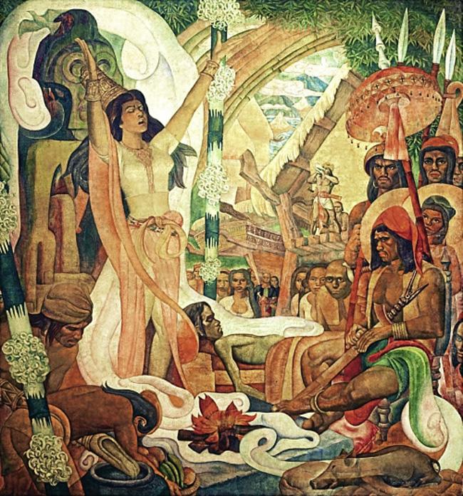 Ritual de babaylan (Ilustração)