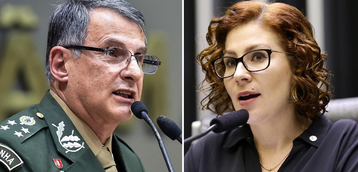 Edson Pujol e Carla Zambelli